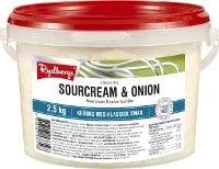 Rydbergs Sourcream & onion -kastike 2,5 kg -