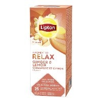 Lipton Horeca Ginger & Lemon yrttitee 6 x 25 pss -