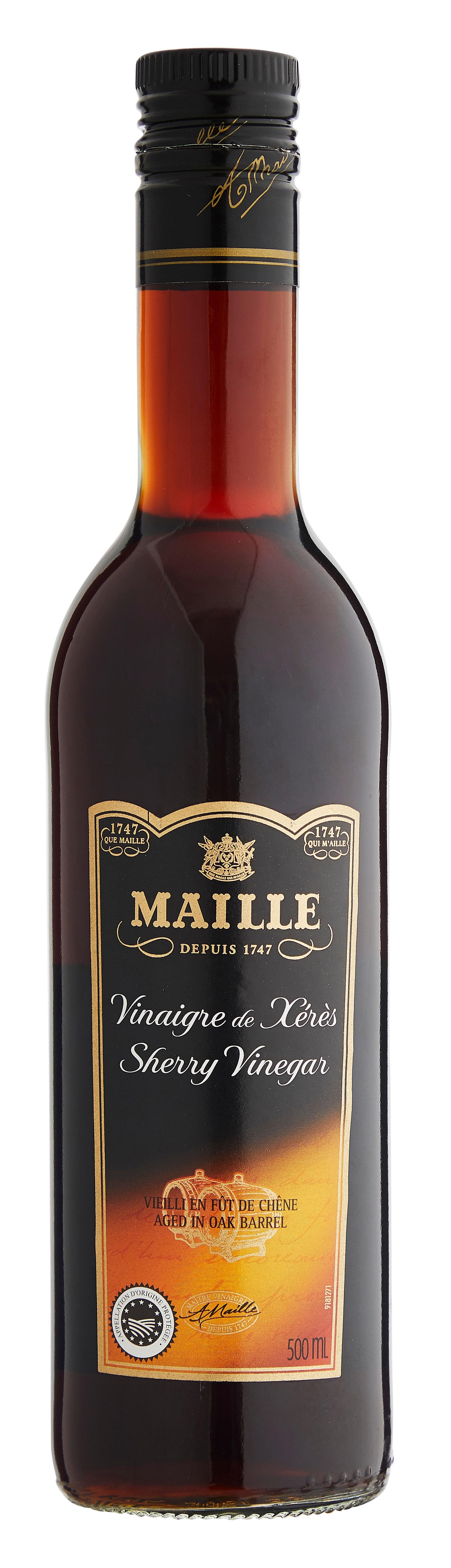 Maille Sherryviinietikka 500 ml -