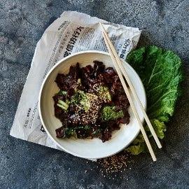 The Vegetarian Butcher NoChicken Chunks ja munakoiso Bulgogi – Resepti