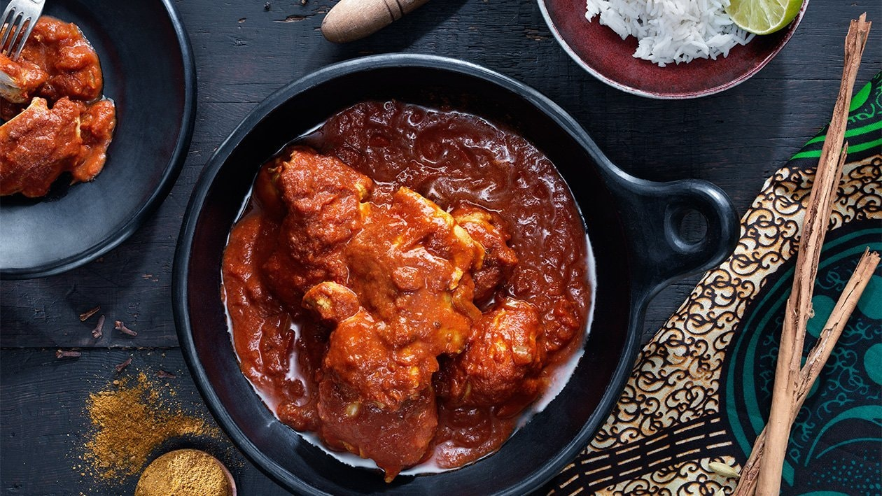 Kenialainen kanapata Biryani  – Resepti