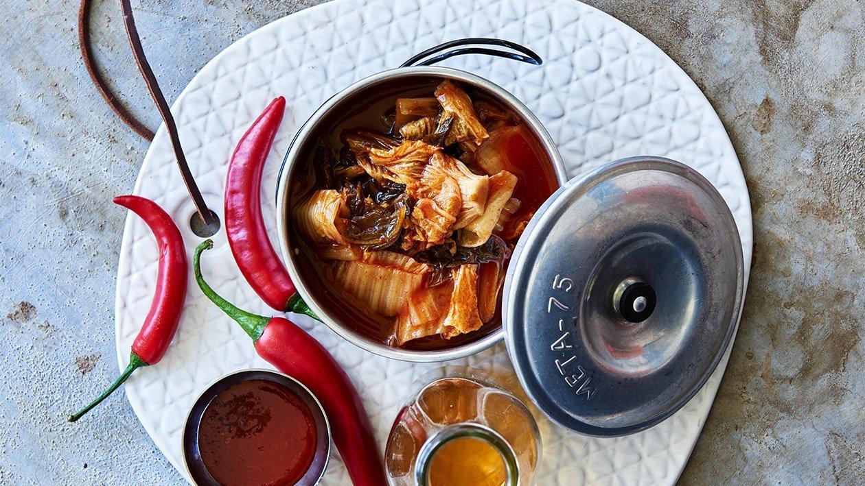 Kimchi - Korealainen kaalisalaatti – Resepti