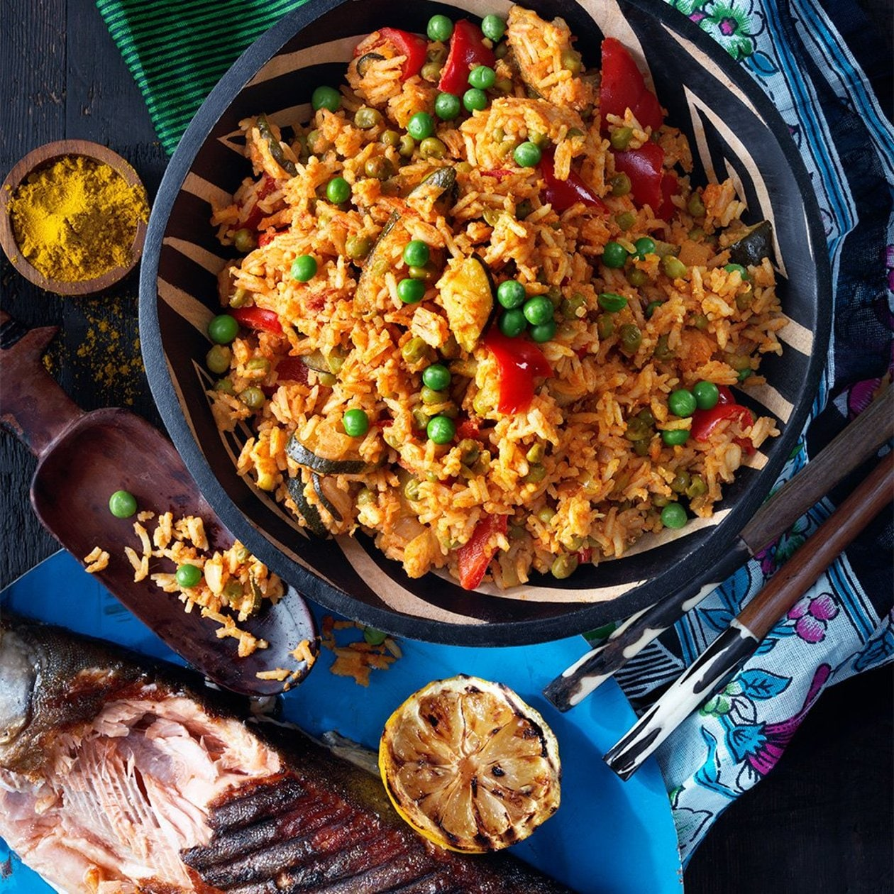Wali wa Kukaanga – Kenialainen paistettu riisi – Resepti