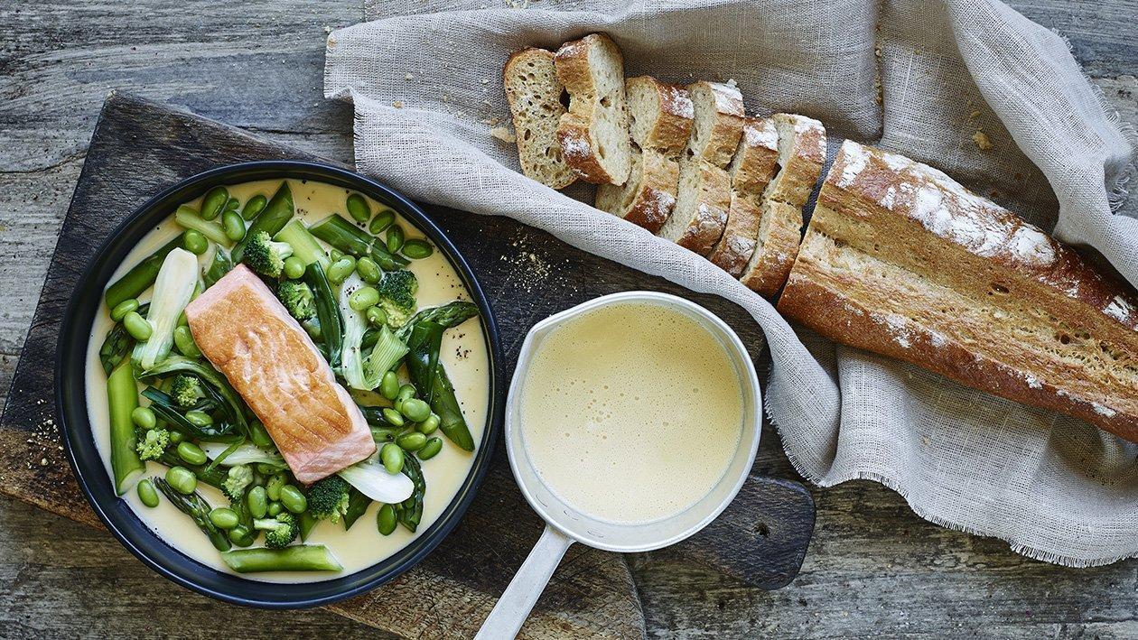 Beurre Blanc, Valkoviini-voikastike kalalle – Resepti