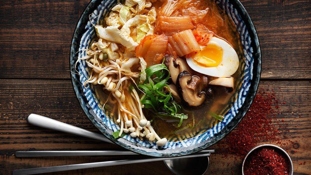 Korealainen ramen – Resepti