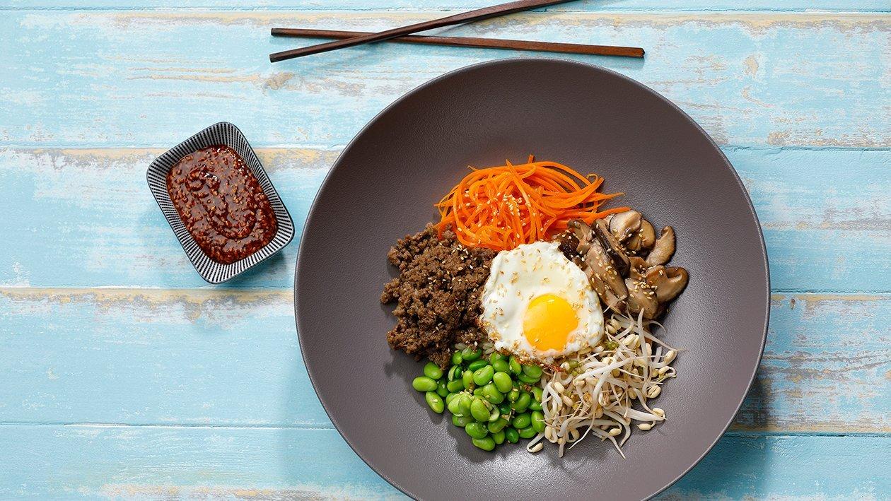 Bibimbap – Resepti