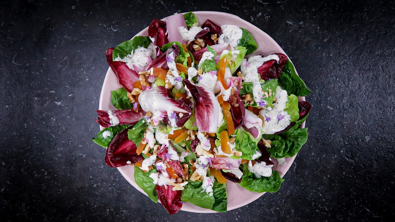 Endiivi- gem salaatti kalalle – Resepti