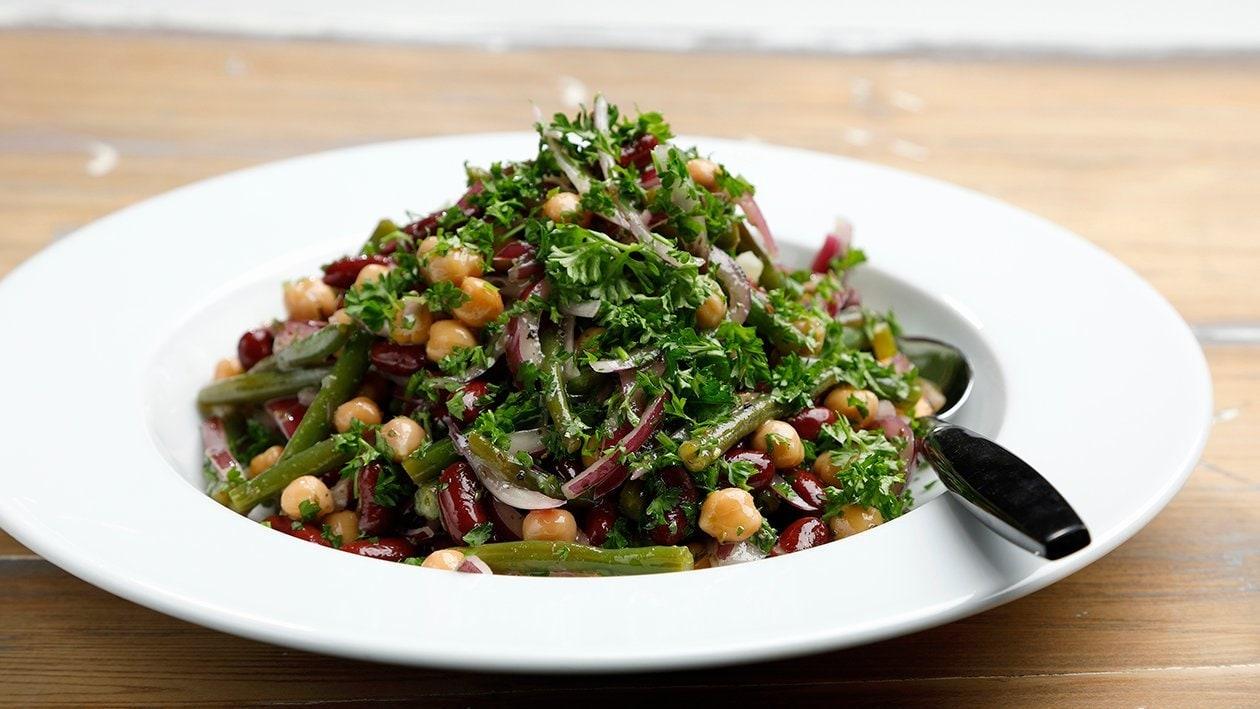 Marinoitu papusalaatti – Resepti
