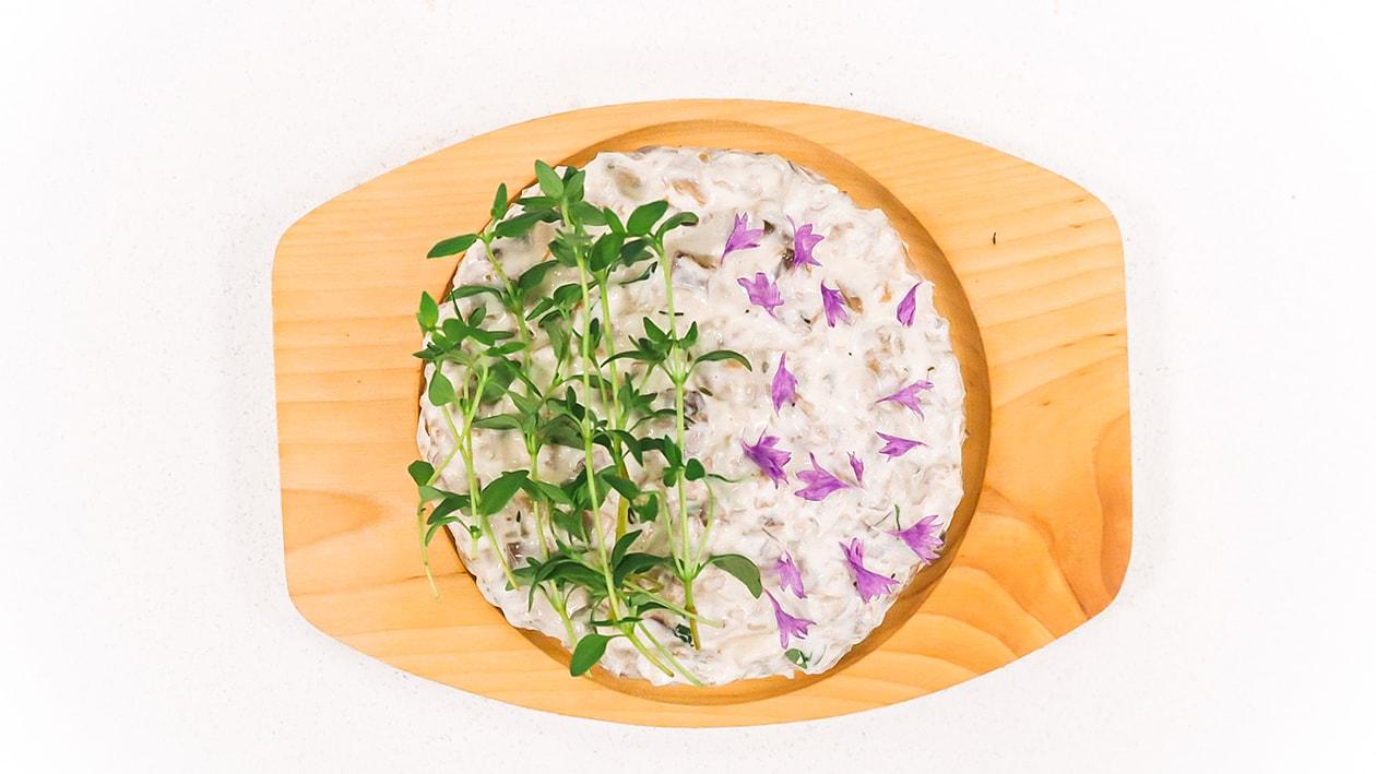 Sienisalaatti  – Resepti