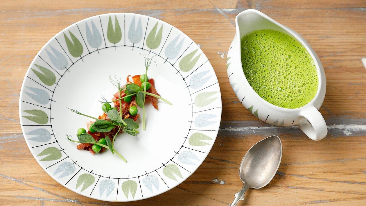 Crème Ninon - Ranskalainen tuorehernekeitto – Resepti