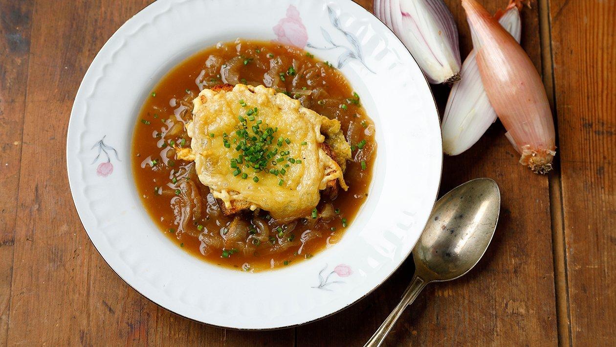Ranskalainen sipulikeitto – Resepti