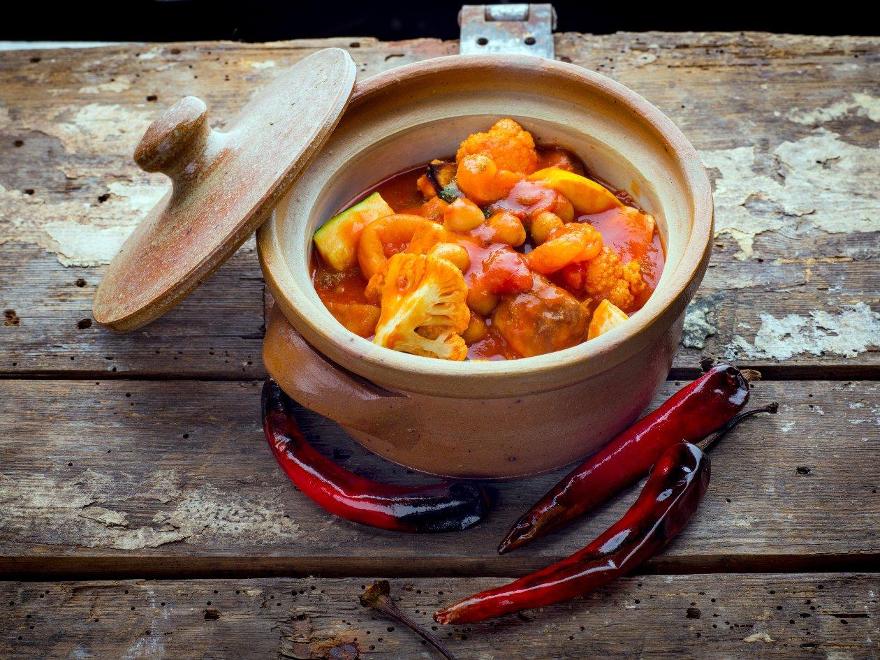 Kasvis-aprikoositagine, Lähi-itä – Resepti